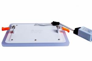 Трехрежимный LED светильник LPL B | 6+3 W | 4000К квадрат