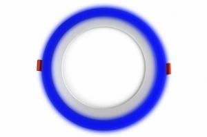 Трехрежимный LED светильник LPL B | 12+4 W | 4000К круг