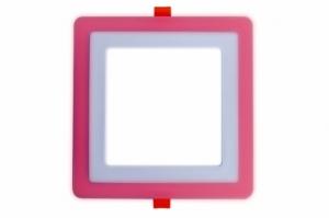 Трехрежимный LED светильник LPL HG | 6+3 W | 4000К квадрат
