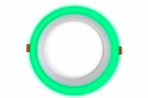 Трехрежимный LED светильник LPL G | 12+4 W | 4000К круг