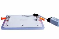 Трехрежимный LED светильник LPL B | 12+4 W | 4000К квадрат