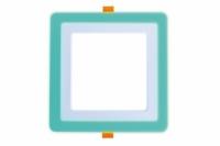 Трехрежимный LED светильник LPL G | 6+3 W | 4000К квадрат