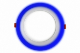 Трехрежимный LED светильник LPL B | 6+3 W | 4000К круг