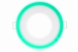 Трехрежимный LED светильник LY 115 G | 12+4 W | 6000К